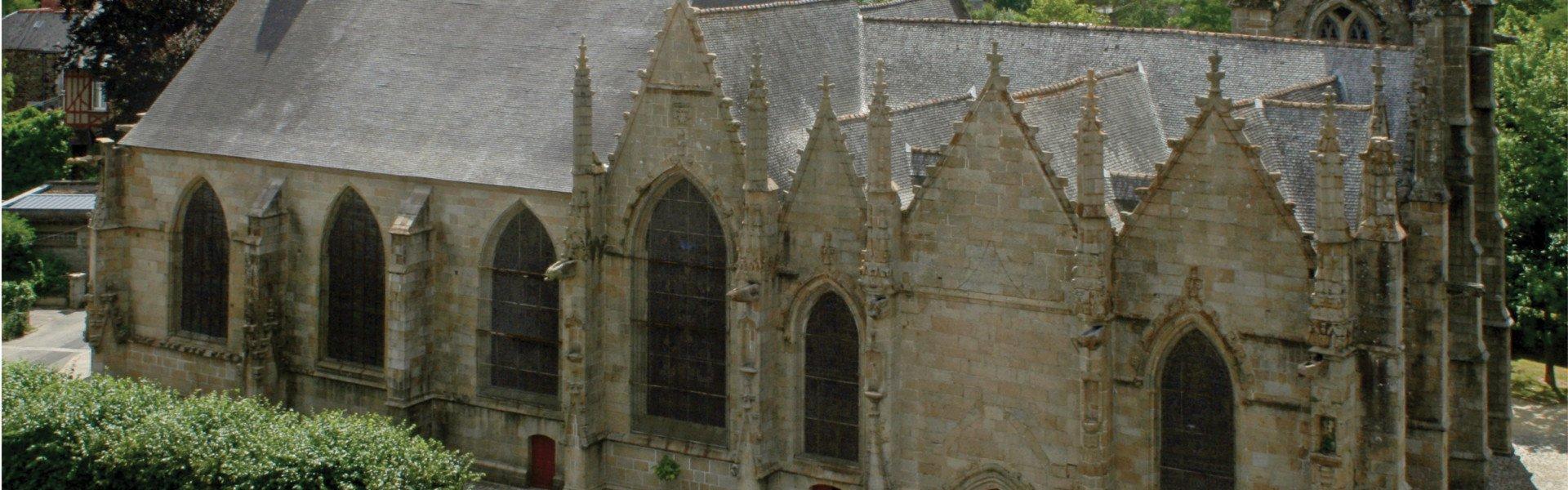 Eglise Saint-Sulpice à Fougères